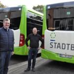 Stadtbus Gütersloh GmbH investiert in umweltschonende Hybrid-Busse