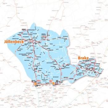Fahrgäste in Jöllenbeck haben dann eine direkte Anbindung an das bestehende ÖPNV-Netz.