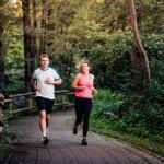 Joggen im Heilwald Bad Lippspringe