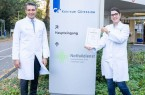 Die Klinik für Kardiologie des Klinikum Gütersloh ist seit kurzem als HFU-Schwerpunktklinik zertifiziert. Darüber freuen sich Chefarzt Prof. Dr. Fikret Er und Oberärztin Dr. Dilek Yüksel.Foto:Stadt Gütersloh