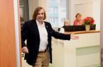 Norbert Morkes' erster Arbeitstag als Bürgermeister: viele Gespräche, Abstimmungen und eine offene Tür.Foto:Stadt Gütersloh