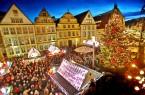 """Der Bielefelder Weihnachtsmarkt kann in diesem Jahr nicht stattfinden."""" Foto: Bielefeld Sarah Jonek"""