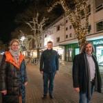 Lichterbäume setzen Berliner Straße in Szene