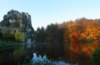 Externsteine im Herbst, Foto: VL - RJaehne