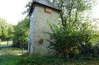 Ein bereits am kreiseigenen Artenschutzturm in Fürstenberg montiertes Fledermausquartier mit zwei Kammern. Fotograf: Kreis Paderborn, Umweltamt, S. Mende