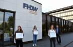 Foto: FHDW Paderborn, Stipendien für drei Studierende
