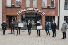 Spendenübergabe EDEKA-Minden-Hannover Stadt Minden St-Marienkirch, Foto: Edeka Minden/Hannover