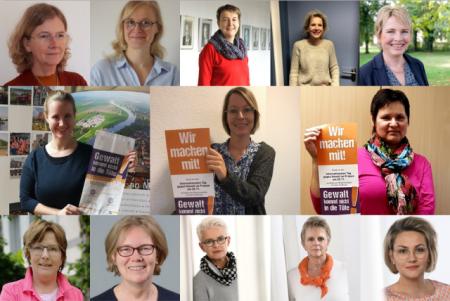 Gleichstellungsbeauftrage und Soroptimistinnen wollen gemeinsam ein Zeichen setzen, Foto: Stadt Bad Oeynhausen