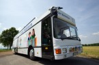 Bücherbus nimmt wieder fahrt auf (© Oliver Krato für den Kreis Paderborn)