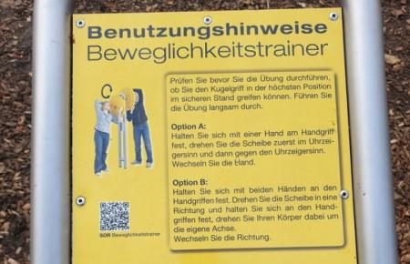 Fitness im Heilwald, Bad Lippspringe, Foto: Stadt Bad Lippspringe