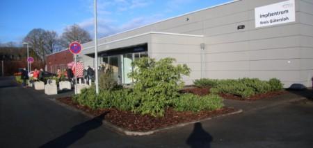 Das Corona Impfzentrum, Foto: Kreis Gütersloh