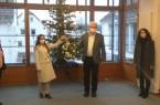 Geschmückter Weihnachtsbaum für das Rathaus, Foto: Stadt Augustdorf
