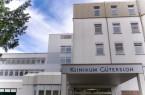 Haupteingang des Klinikum GT, Foto: Klinikum Gütersloh