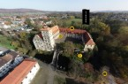 Luftaufnahme, Foto: Weserrenaissance-Museum Schloss Brake