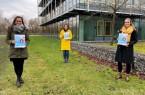 Das Team vom Bildungsbüro Kind & Ko: v.li.: Lea Dierks, Britta Vollmann, Theresa Driller, Foto: Stadt Paderborn