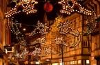 Weihnachtsbeleuchtung in der langen Geismar Straße, Foto: Presse-Niedersachsen