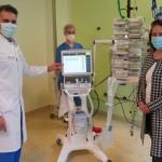 Klinikum erhält zusätzliche Beatmungsgeräte