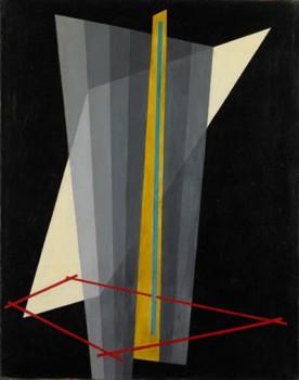 László Moholy-Nagy Komposition K XVII, 1923 Kunsthalle Bielefeld Foto: Axel Struwe