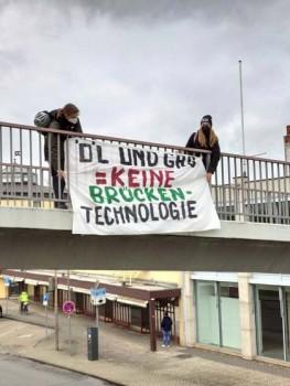 Demonstrationsbanner in Peine. (Foto: Fridays for Future Deutschland)