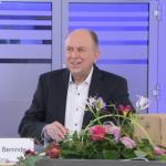 Landrat Christoph Rüther beim digitalen Neujahresempfang des Kreises Paderborn: