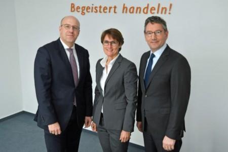 EK Vorstand Martin Richrath, Susanne Sorg, Franz-Josef Hasebrink (1)