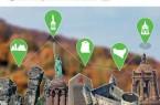 """Die Broschüre """"MyHistoryMap OWL – Jugendliche auf Spurensuche in Ostwestfalen-Lippe"""" dokumentiert die Projektarbeit an den Orten des Erinnerns in der Region. Sie kann im Haus Neuland bestellt werden. Grafik: Haus Neuland"""