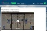 Dieser Screenshot zeigt die Coronasonderseite des Kreises Gütersloh. Dort können sich ab sofort alle Interessenten auf einen virtuellen Rundgang durch das Impfzentrum begeben. Screenshot: Kreis Gütersloh