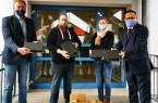 Schul-IT bereitet 400 Geräte in kürzester Zeit für den Einsatz vor, Foto: Stadt Bad Oeynhausen