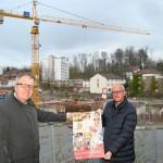 Unternehmen Stockmeier spendet 100.000 Euro für Neubau des Kinderzentrums am EvKB