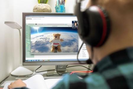 zdi-Zentrum Lippe.MINT bietet Onlinekurse zu den Themen Stratosphärenflug und Smartphone Hack an.Foto STRATOlab - ©Lippe Bildung eG