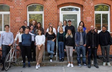 Das hochmotivierte Team von KptnCook freut sich auf die stärkere Zusammenarbeit mit Miele, um gemeinsam an neuen Innovationen zu arbeiten. (Foto: KptnCook)