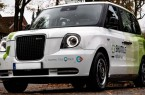 Ein elektrisch betriebenes London Taxi (LEVC) der Stadtbus Gütersloh GmbH. Foto: Stadtwerke Gütersloh