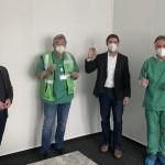 Betrieb im Impfzentrum des Kreises Herford gestartet