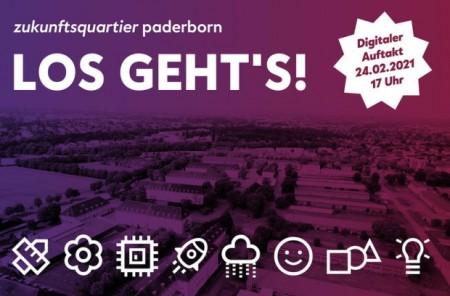 """Unter dem Arbeitstitel """"zukunftsquartier paderborn"""" starten im Februar 2021 die planerischen Vorbereitungen zur Entwicklung eines neuen, innovativen Stadtquartiers auf dem Areal der ehemaligen Barker Baracks im Osten der Paderborner Kernstadt. Foto: Stadt Paderborn"""