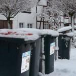Wintereinbruch: ASP stellt Entsorgung ein