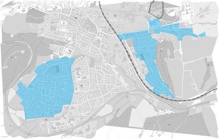 Ausbaugebiete Bad Driburg