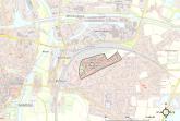 Karte vom Gebiet, für das das energetische Konzept erstellt wird (Bildnachweis: Energielenker Projects GmbH).