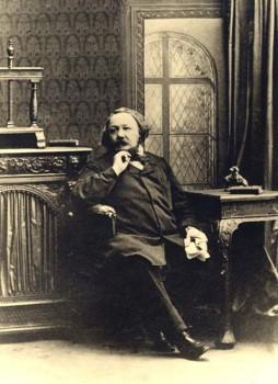 Ferdinand Freiligrath in seinem Haus in London, um 1862 (Lippische Landesbibliothek, FrSB 16)
