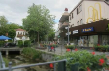 Innenstadt Bad Lippspringe, Foto Stadt Bad Lippspringee