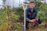 Nikolas Osburg ist der neue Hüter der Wälder im Gemeindeforstamt Willebadessen Foto: Forstamt Willebadessen