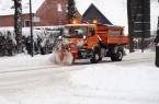 Der städtische Fachbereich Stadtreinigung ist rund um die Uhr im Einsatz, um die Straßen in Gütersloh frei zu halten.Foto:Stadt Gütersloh.