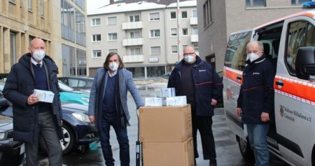 Stadt Gütersloh gibt 155.000 Masken an Bedürftige aus.Foto:Stadt Gütersloh