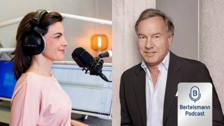 Bertelsmann Business Podcast mit UFA-CEO Nico Hofmann.Foto: Bertelsmann