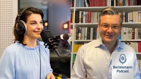 Bertelsmann Business Podcast mit Majorel-Chef Thomas Mackenbrock.Foto: Bertelsmann