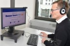 Arne Potthoff, Referatsleiter bei der IHK Ostwestfalen, organisierte die Online-Auftaktveranstaltung von Bielefeld aus. Foto: IHK Ostwestfalen