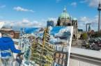 Bertelsmann fördert Publikation über Schlossplatz-Zyklus von Pleinair-Maler Christopher LehmpfuhlFoto: Bertelsmann