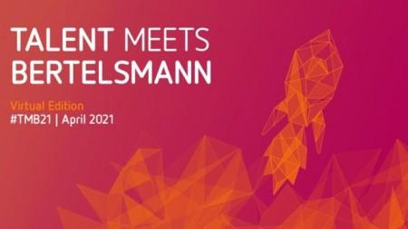 """Karriere-Event """"Talent Meets Bertelsmann"""" erstmals virtuell"""