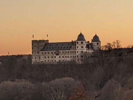 Die Wewelsburg bei Sonnenaufgang © Kreismuseum Wewelsburg