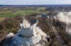Hagedorn Gruppe sprengt das Steag-Steinkohlekraftwerk in Lünen (1)