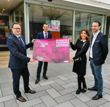 "Stadt stellt Projekt ""Kurstadtladen"" vor.Foto:Stadt"
